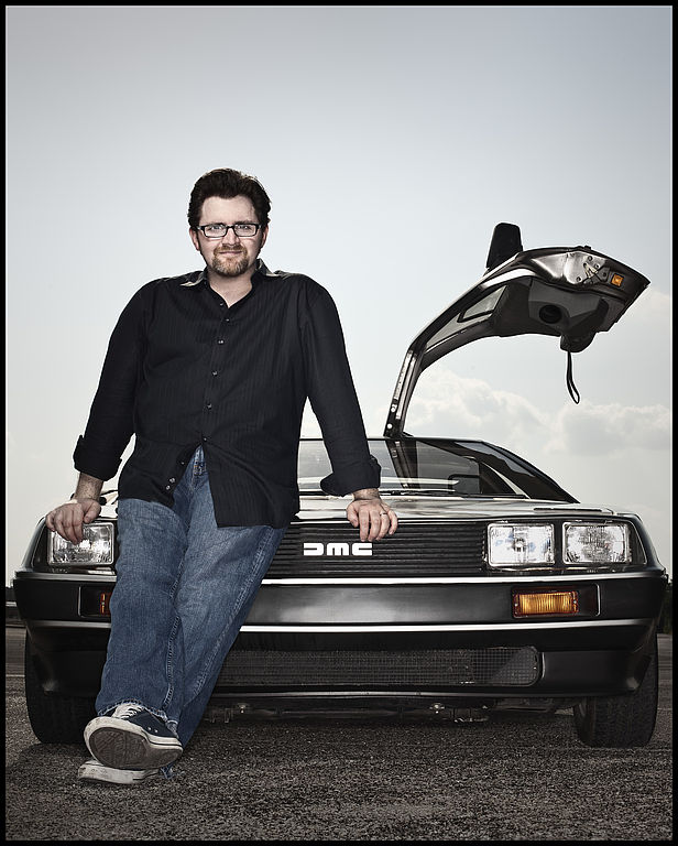 "Ernest Cline, Autor von ""Ready Player One"" und ""Armada"""