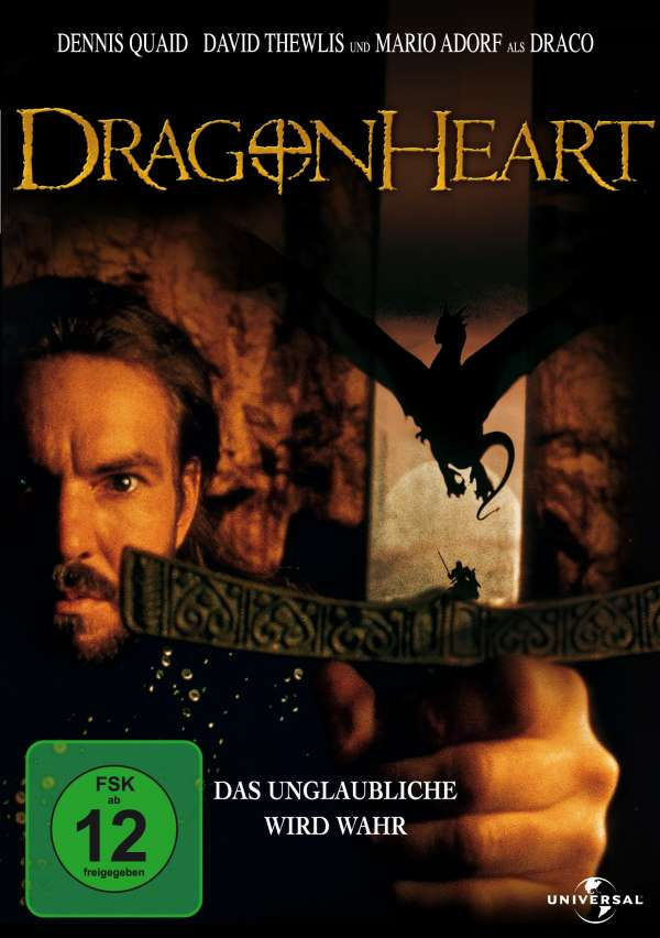 DVD-Cover: Dragonheart