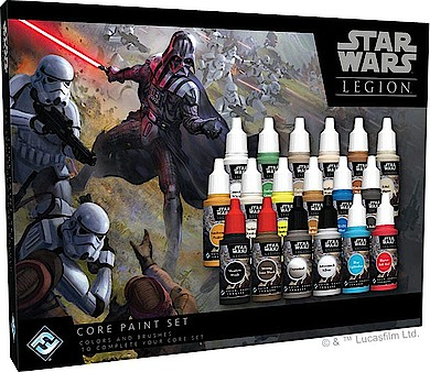Star Wars Paint Set