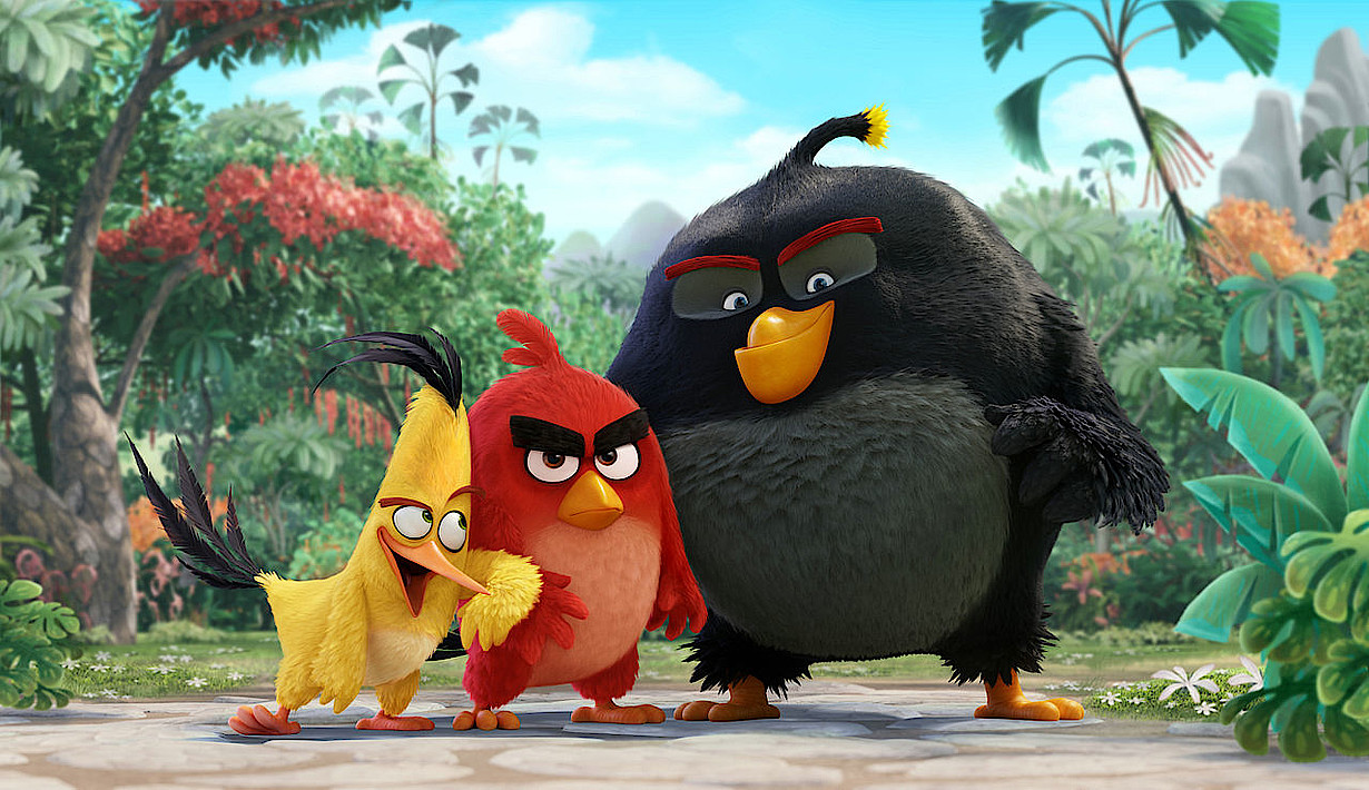 Angry Birds Games Spiel Verfilmung