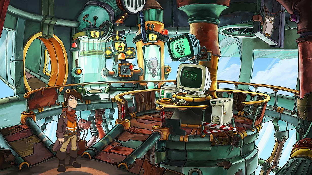 Point-and-Click-Adventures: Deponia Doomsday