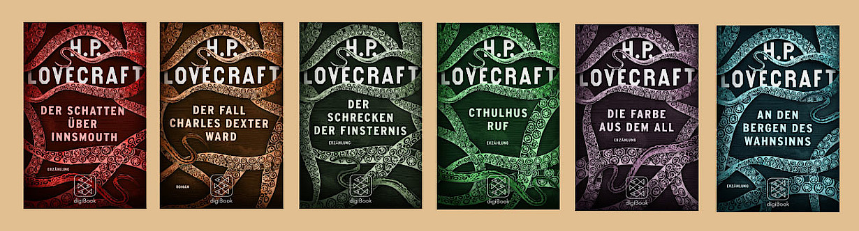H.P. Lovecraft E-Books