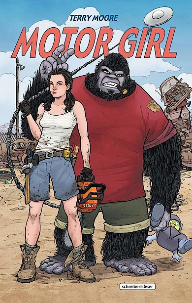Motor Girl von Terry Moore bei Amazon bestellen