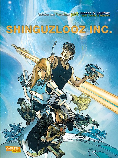 Valerian und Veronique Spezial 2 - Shinguzlooz Inc. von Wilfried Lupano und Mathieu Laffray bei Amazon bestellen