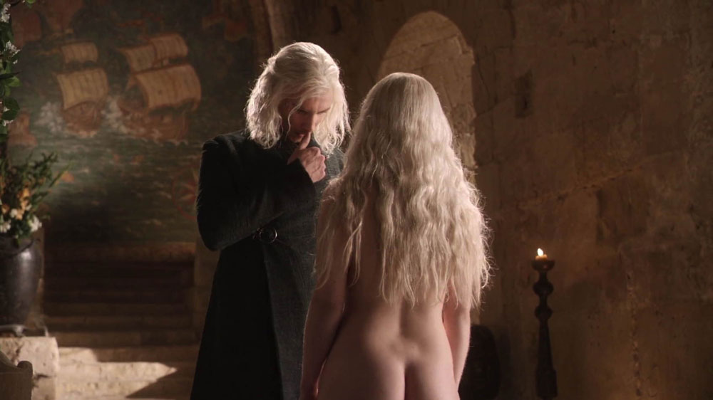 Game of Thrones Viserys und Daenerys Targaryen