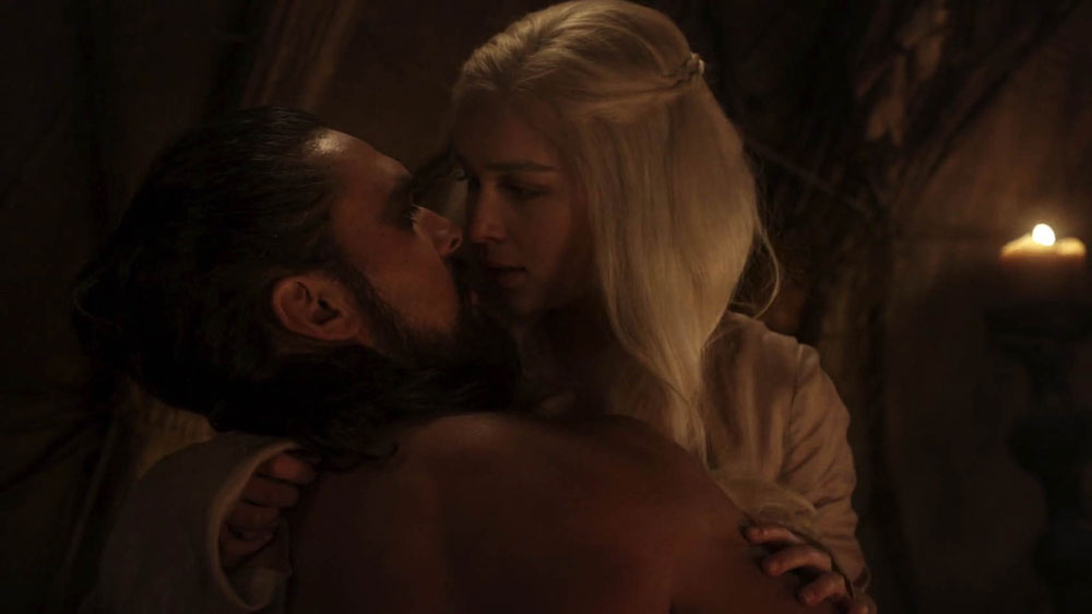 Game of Thrones: Khal Drogo und Daenerys Targaryen