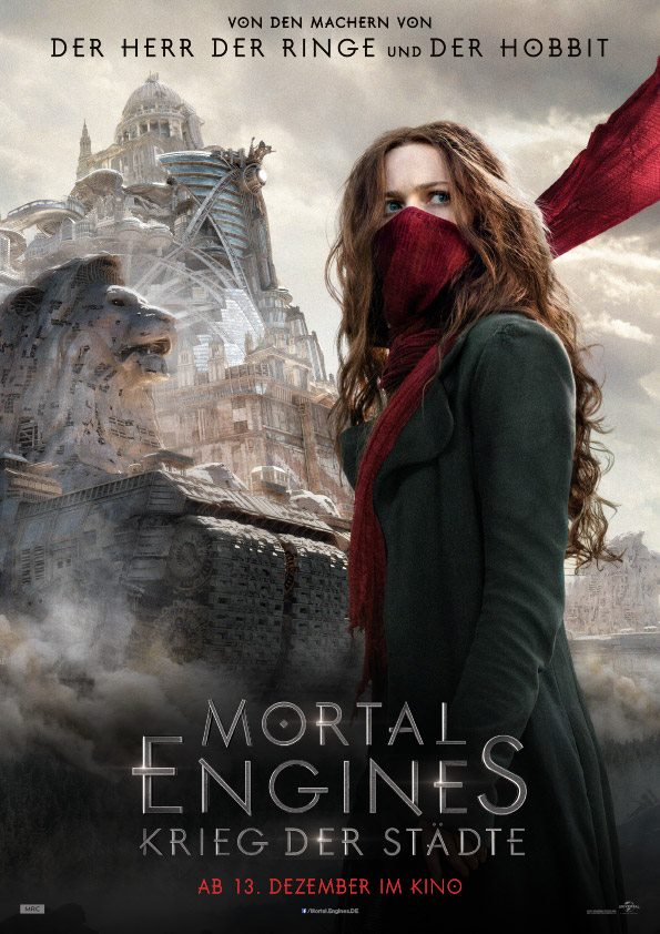 Mortal Engines (Poster Hester Shaw)