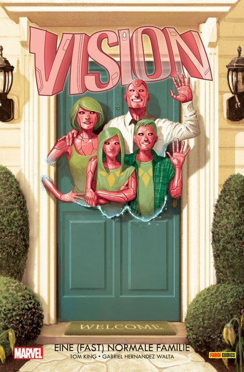 Vision: Bd. 1: Eine (fast) normale Familie