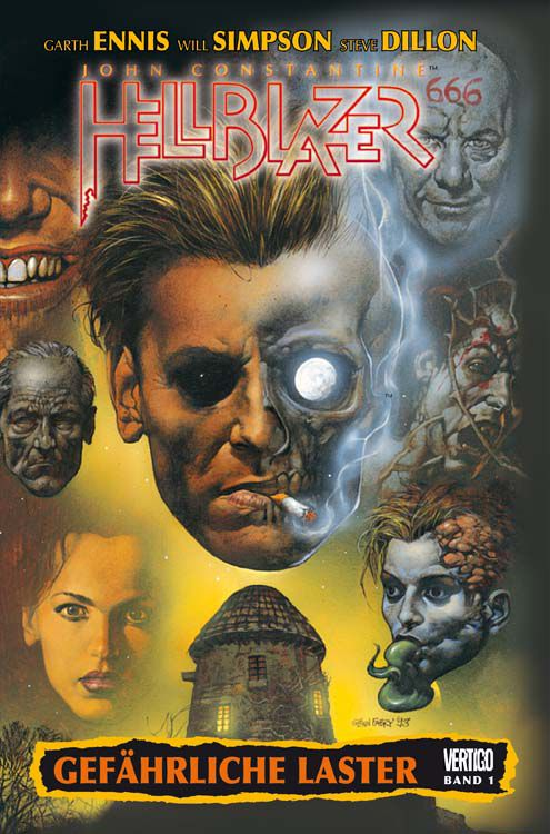 Hellblazer Garth Ennis Collection, Bd.1 : Gefährliche Laster bei Amazon bestellen