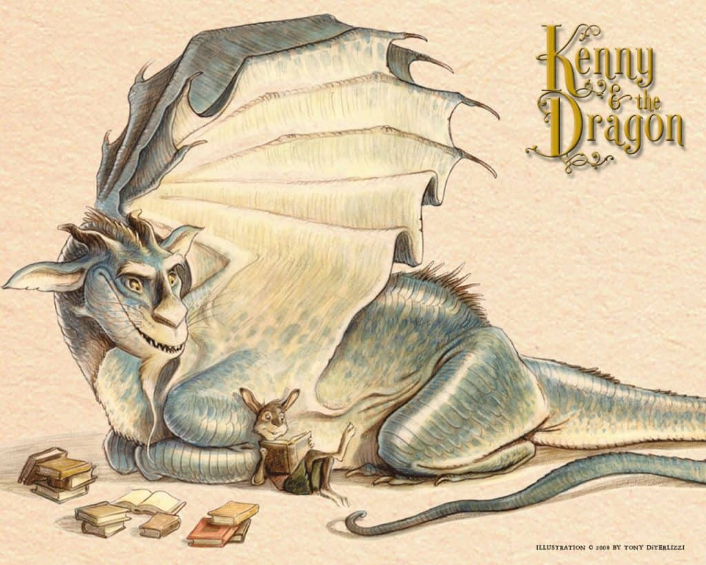 """Kenny & The Dragon"" des New York Times Bestsellerautors und Illustrators Tony DiTerlizzi"