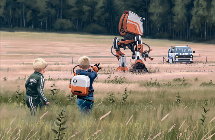 Tales From The Loop: Simon Stålenhag