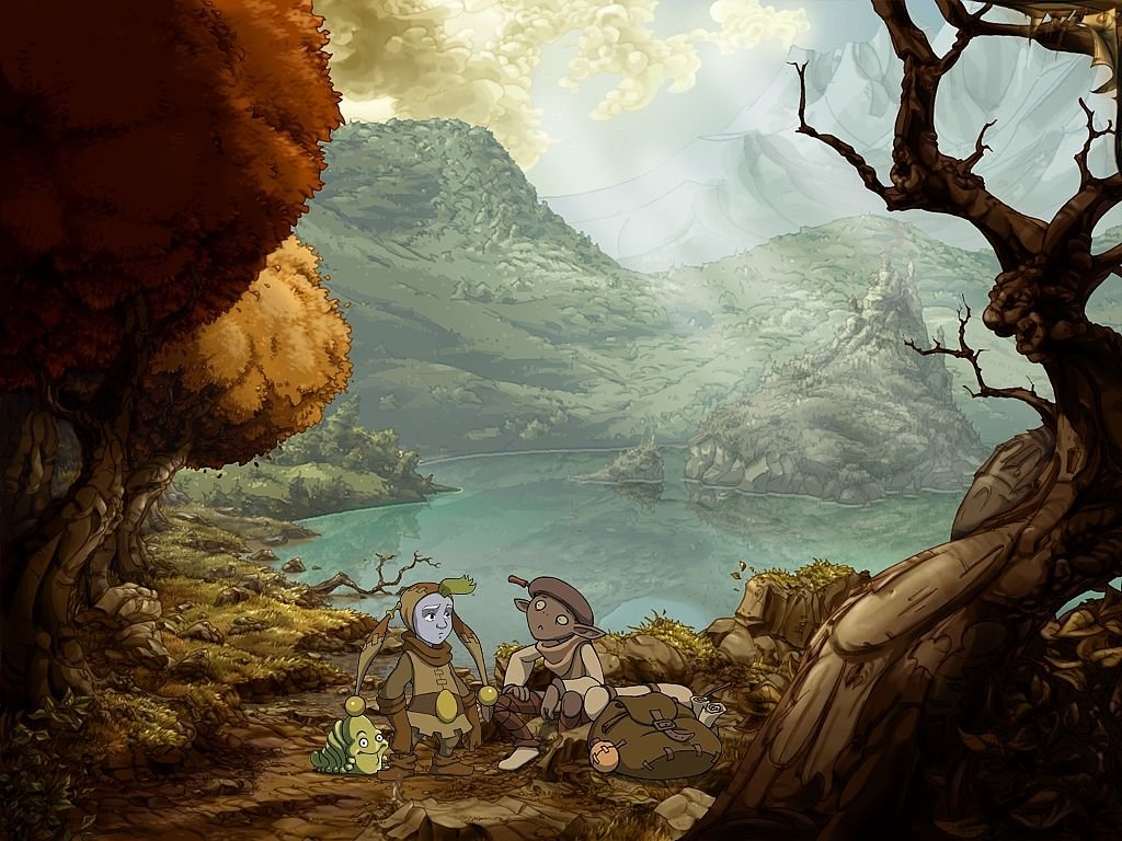 "Spot aus ""The Whispered World"""