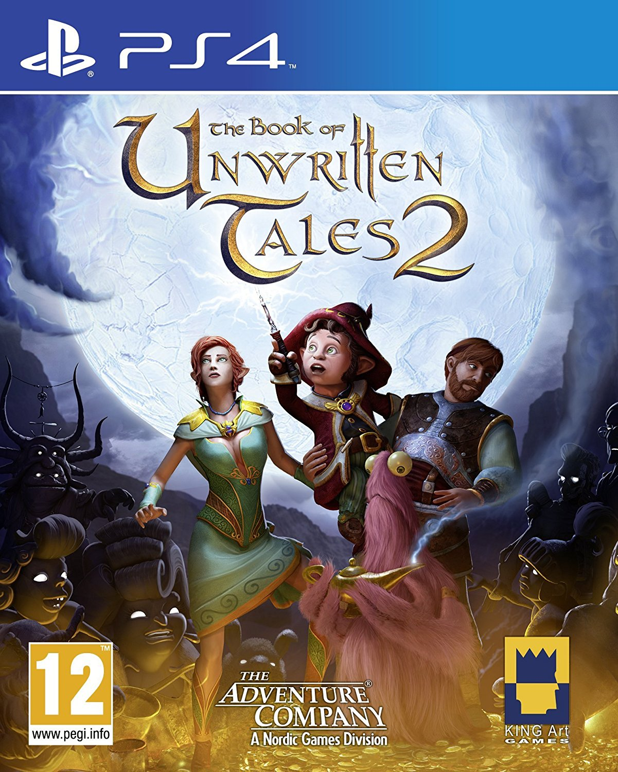 Book of Unwritten Tales 2 für die PlayStation 4 bei Amazon bestellen