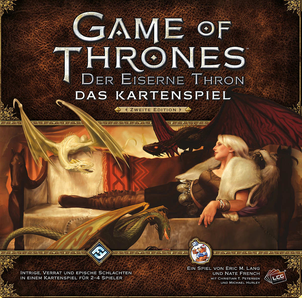 Kartenspiel Game of Thrones - Der eiserne Thron bei Amazon bestellen