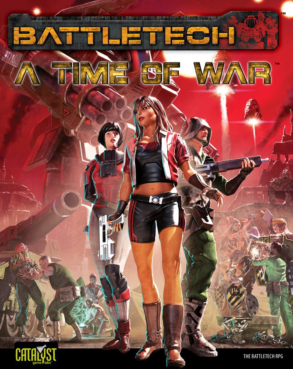 Battletech - A Time of War Rollenspielbuch bei Amazon bestellen