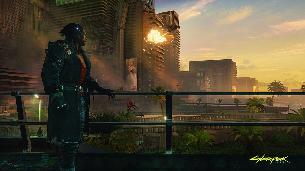 Cyberpunk 2077: Admiring The View