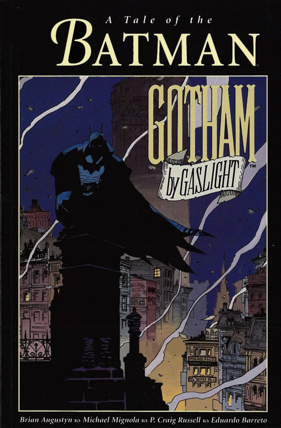 Comic Batman - Gotham by Gaslight