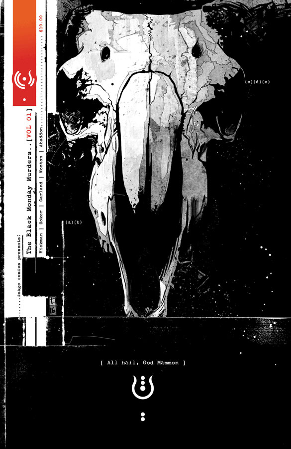 The Black Monday Murders Volume 1 von Jonathan Hickman & Tom Coker