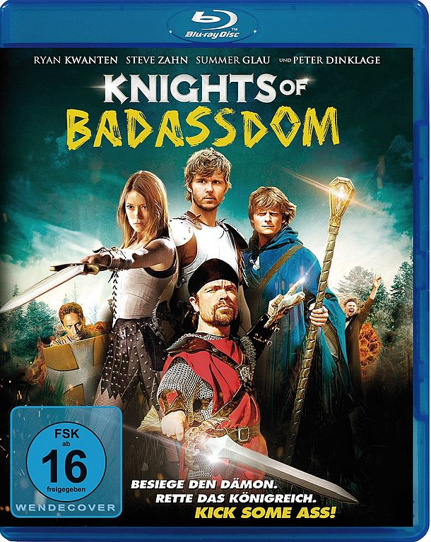 Bluray-Cover: Knights of Badassdom