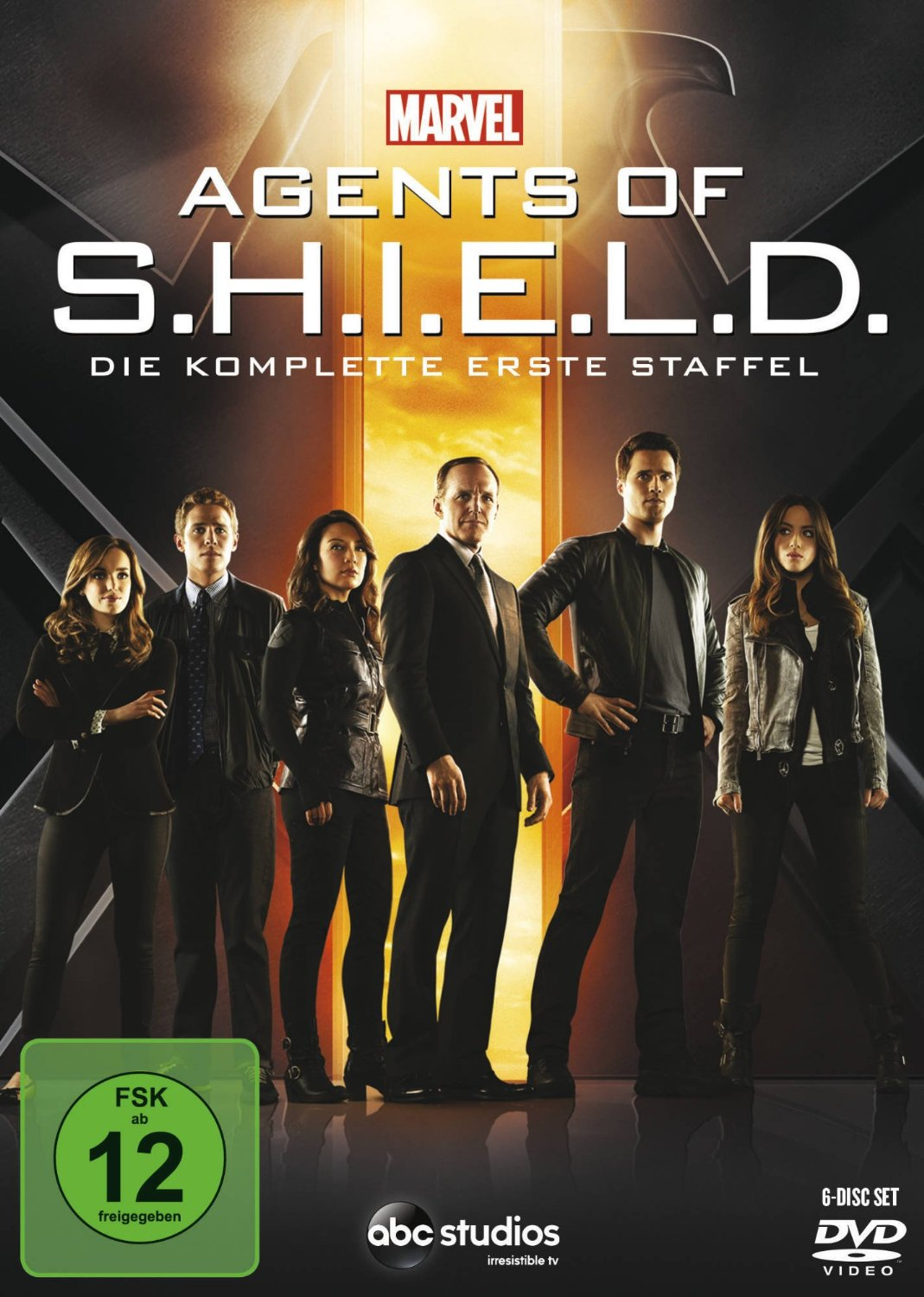 DVD-Cover: Agents of Shield