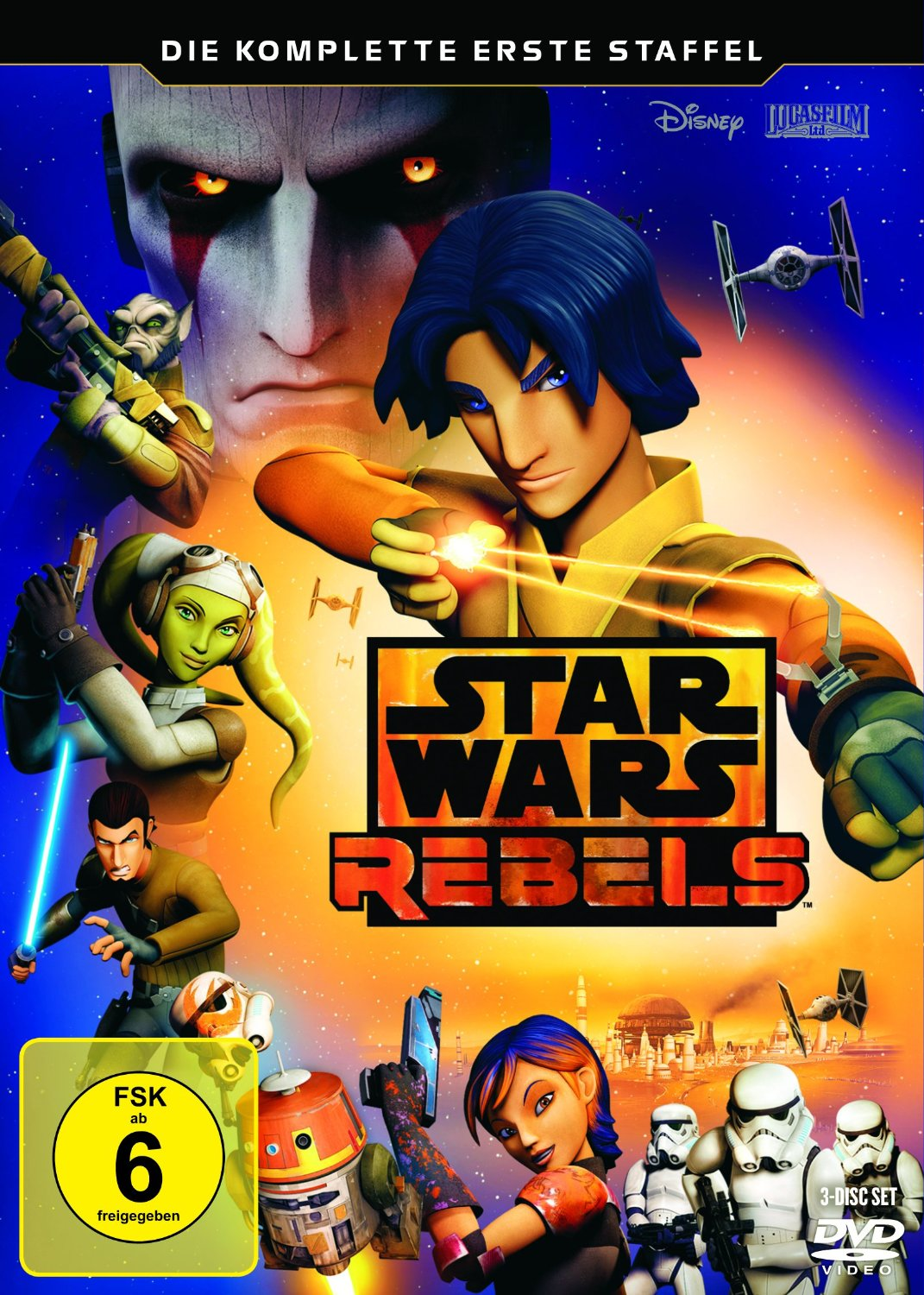 DVD-Cover: Star Wars Rebels