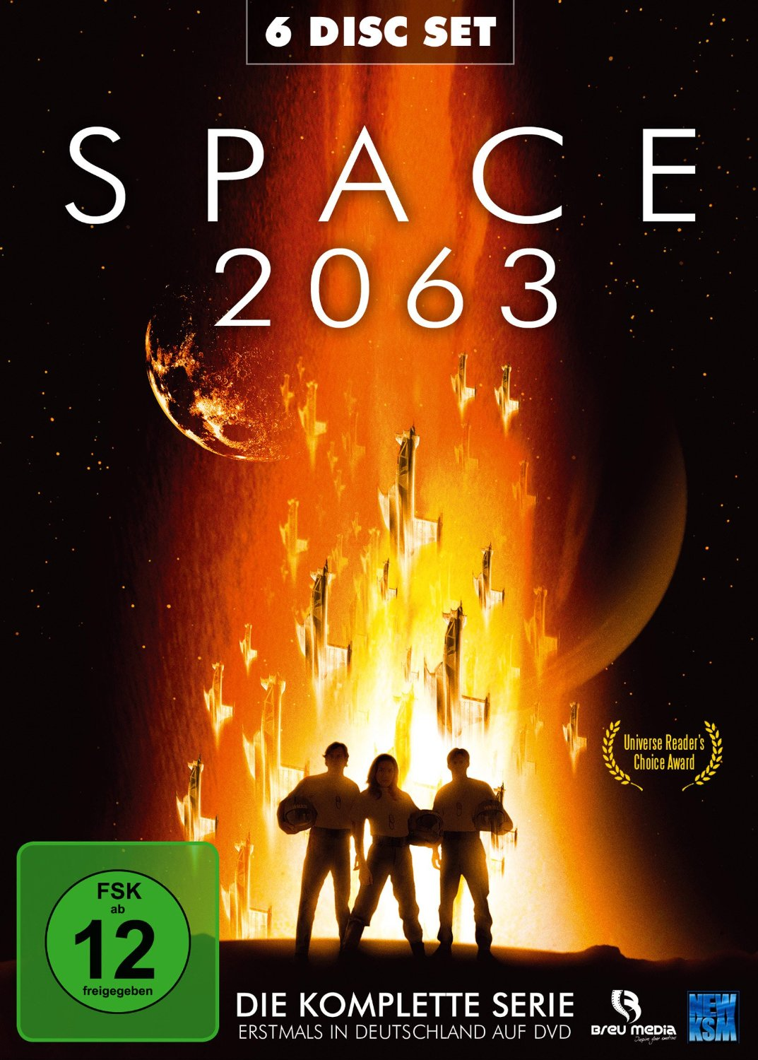 DVD-Cover: Space 2063