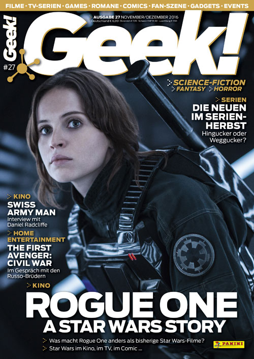 Star Wars Rogue One im aktuellen Geek-Magazin