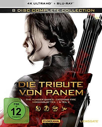 Blu-ray - Die Tribute von Panem - Complete Collection bei Amazon bestellen