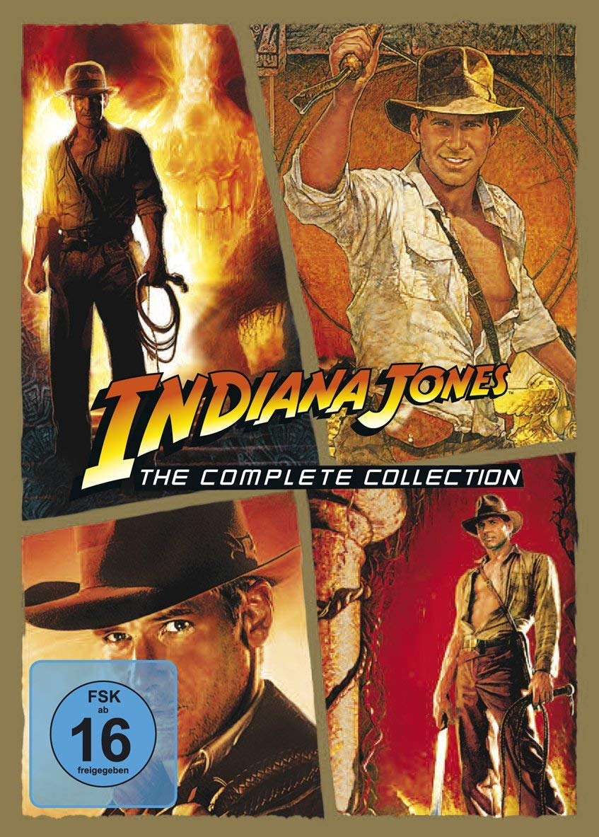 Indiana Jones - The Complete Collection mit Harrison Ford bei Amazon bestellen
