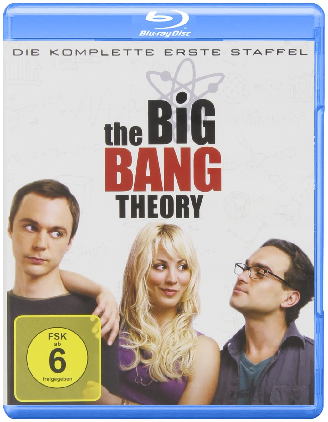 Blu-ray The Big Bang Theory - Die komplette erste Staffel bei Amazon bestellen