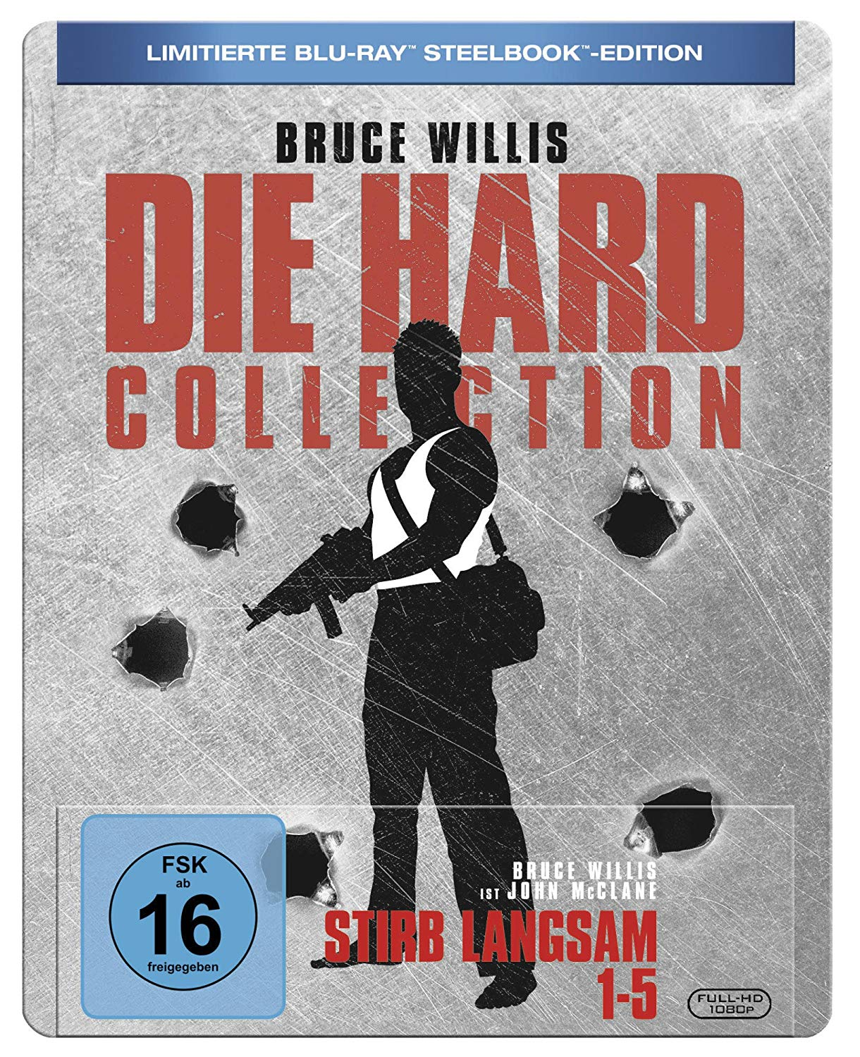 Stirb Langsam 1-5 Steelbook-Collection bei Amazon bestellen