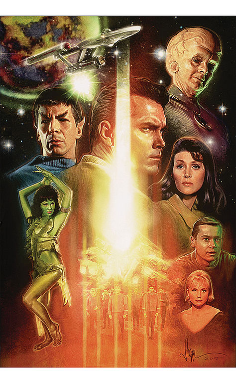 Star Trek Inception - The Cage von Paul Shipper