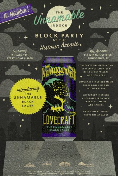 Lovecraft - The Unnameable Black Lager
