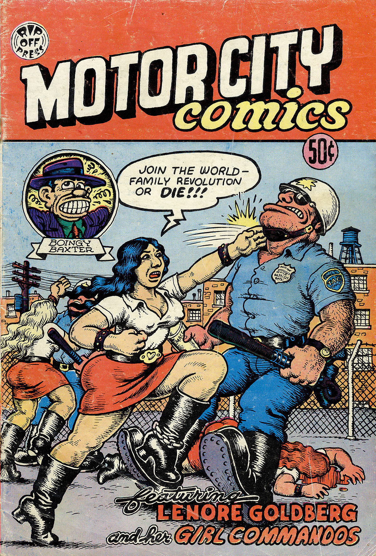 Robert Crumb (geb. 1943) Motor City Comics Comic-Heft 1969