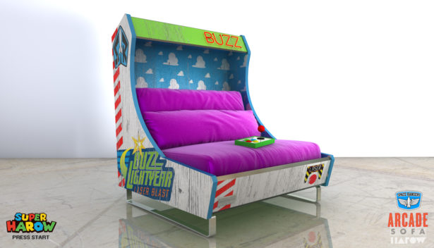 Buzz Lightyear Sofa von Arcade Games